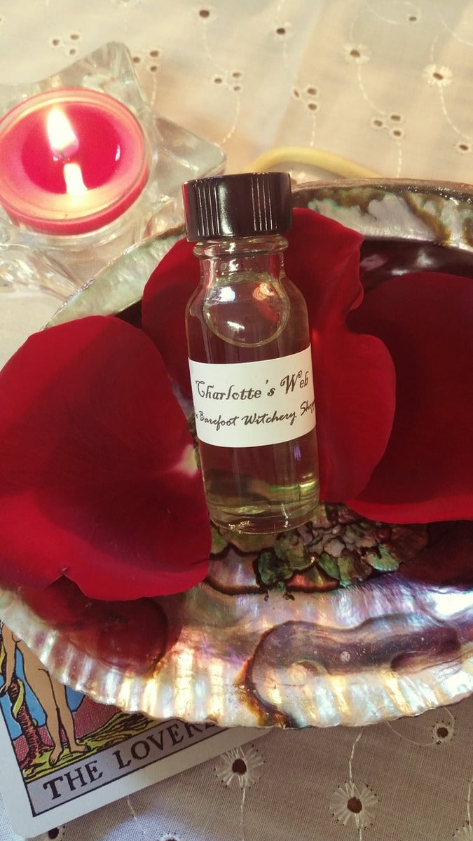 Barefoot Witchery Charlotte's Web Oil