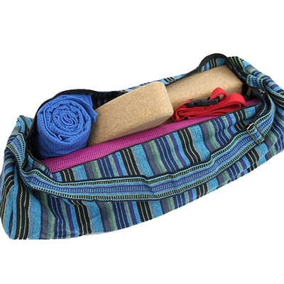 Yoga Mat Bag Striped