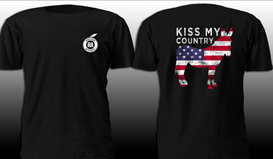 Kiss My Country Ass Tee