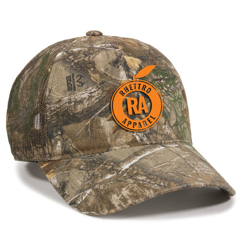 Rhettro Apparel Realtree Camo Hat