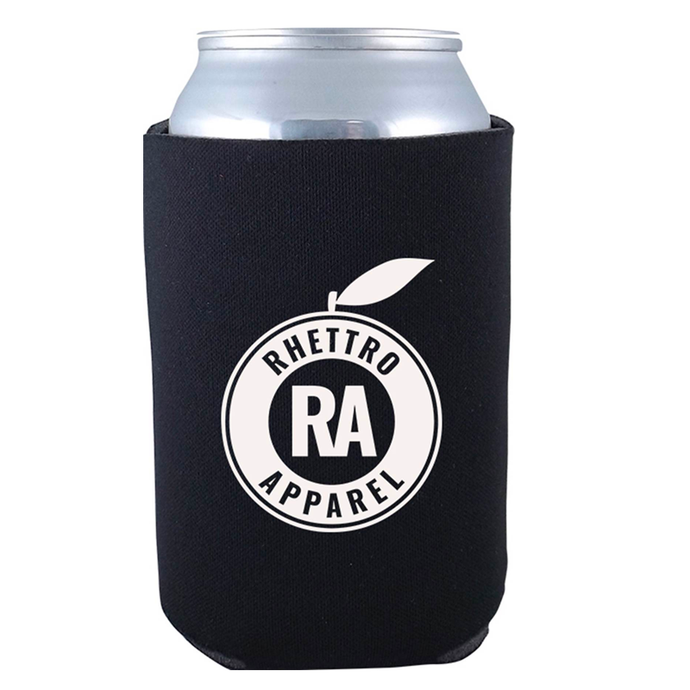 Rhettro Apparel Koozie (Black)