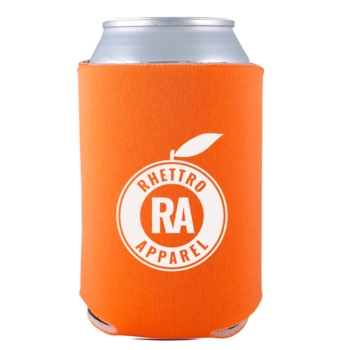 Rhettro Apparel Koozie (Orange)