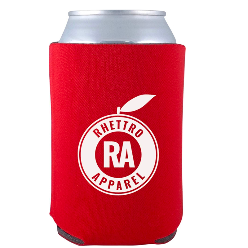 Rhettro Apparel Koozie (Red)