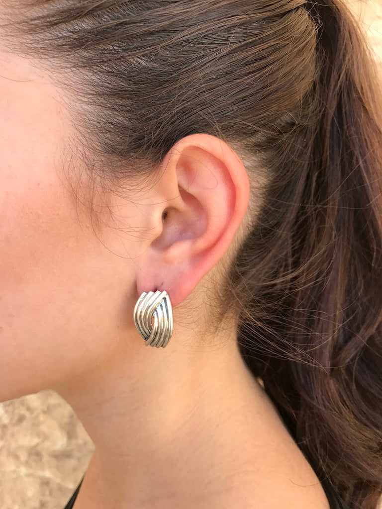 Silver Earrings, Designer Earrings, Statement Earrings, Unique Earrings, Artistic Earrings, Artisan Earrings, Solid Silver, Stud Earrings