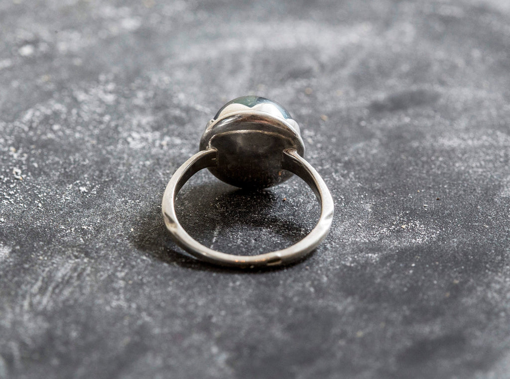 Black Pearl Ring, Natural Pearl Ring, June Birthstone, Black Pearl, Real Pearl, Vintage Rings, Solid Silver Ring, Grey Pearl, June Ring