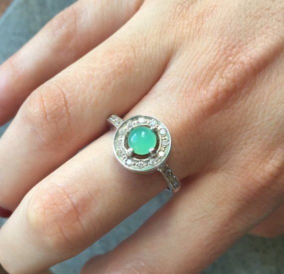 Fire Opal Ring, Ethiopian Opal, Victorian Opal Ring, Genuine Opal, Ethiopian Opal Ring, Vintage Opal Ring, October Birthstone, Silver Ring
