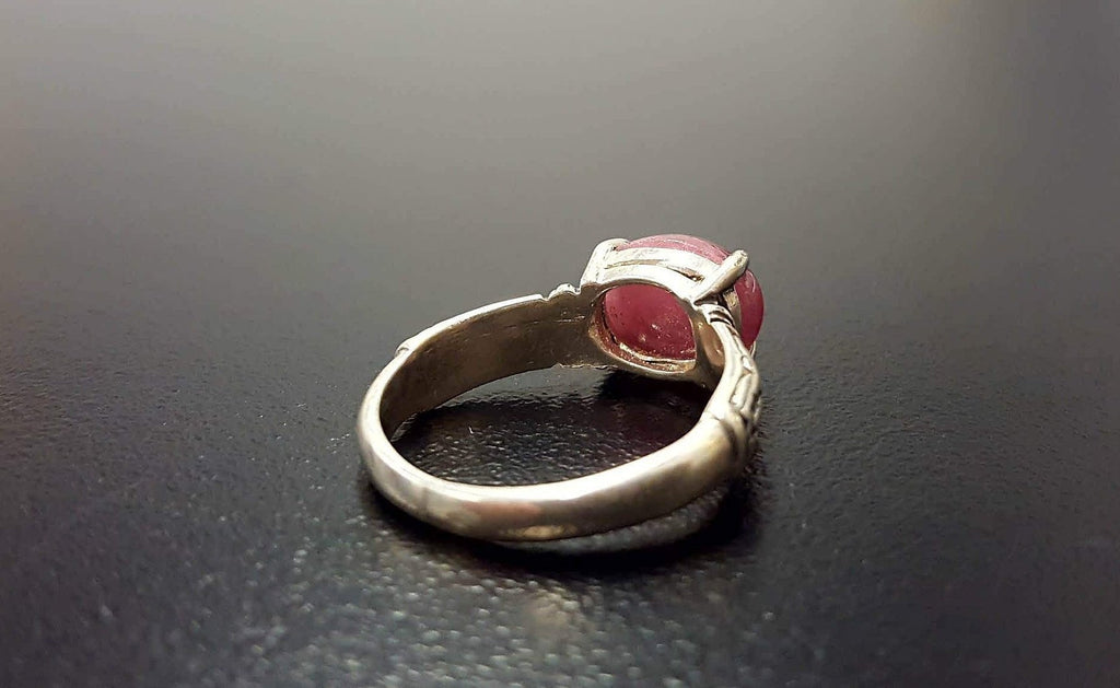 Ruby Ring, Natural Ruby Ring, Bohemian Ring, July Birthstone, Red Ring, Red Ruby Ring, Ruby Vintage Ring, July Ring, 925 Silver Ring, Ruby