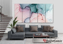 Beautiful Pastel Abstract | Multi Panels Canvas