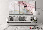 Beautiful Pink Abstract | Multi Panels Canvas