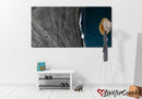 Black Sand Beach | Multi Panels Canvas