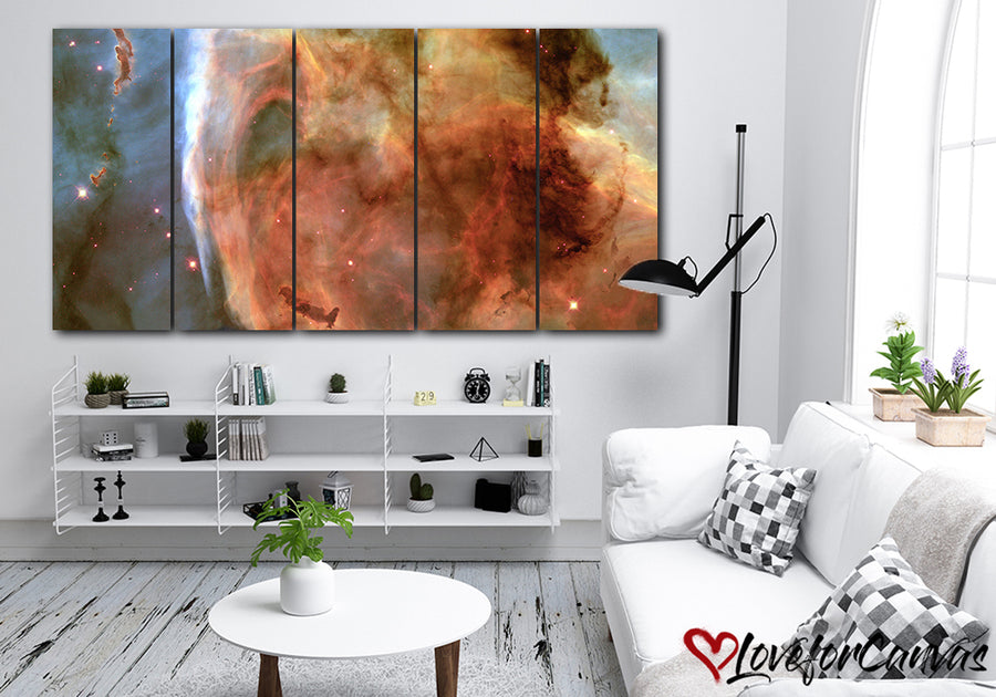 Beautiful Nebula | Space | Multi Panels Canvas