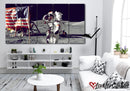 Man On The Moon | Space | Multi Panels Canvas