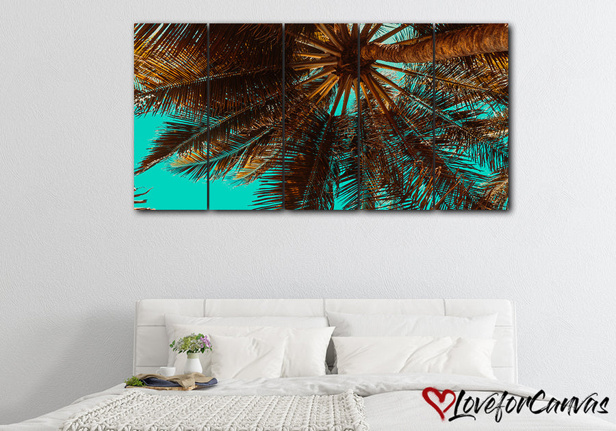 Palm Trees | Nature | Multi Panels Canvas