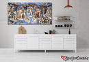 Last Judgement - Sistine Chapel | Renaissance | Multi Panels Canvas