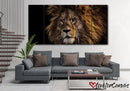 King Of The Jungle | Animal | Multi Panels Canvas