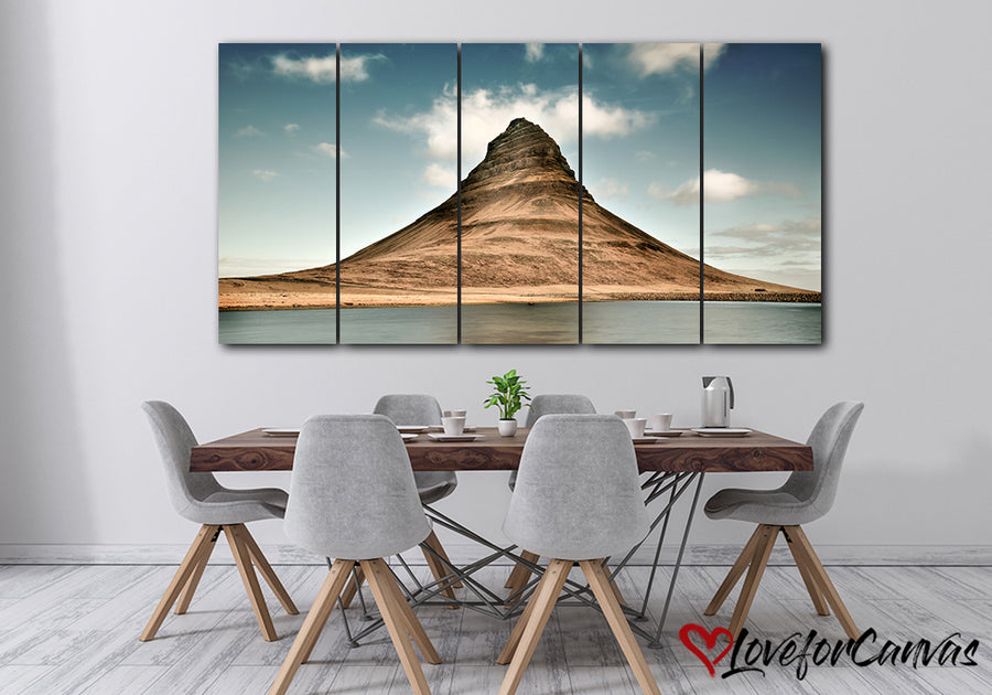 Hill Formation | Nature | Multi Panels Canvas
