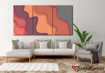 Pastel Abstract | Multi Panels Canvas