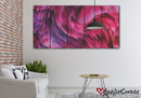Beautiful Purple Abstract | Multi Panels Canvas