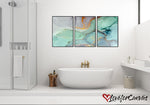 Pastel Emerald | Abstract | Canvas Print