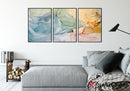 Vibrant Pastel | Abstract | Canvas Print