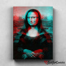 3D Monalisa | Pop Art | Canvas Poster