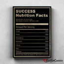 Success Nutrition | Motivational | Canvas Poster