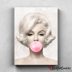 Marilyn Monroe - Bubble | Legends | Canvas Poster