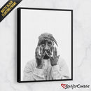 Tupac Shakur - Light | Legends | Canvas Poster