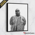 Notorious B.I.G. - Light | Legends | Canvas Poster