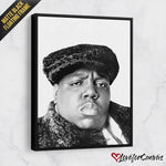 Notorious B.I.G. - Dark | Legends | Canvas Poster