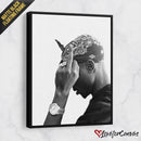Tupac Shakur - Dark | Legends | Canvas Poster