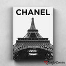 Chanel Eiffel Tower Pairs | Fashion | Canvas Poster