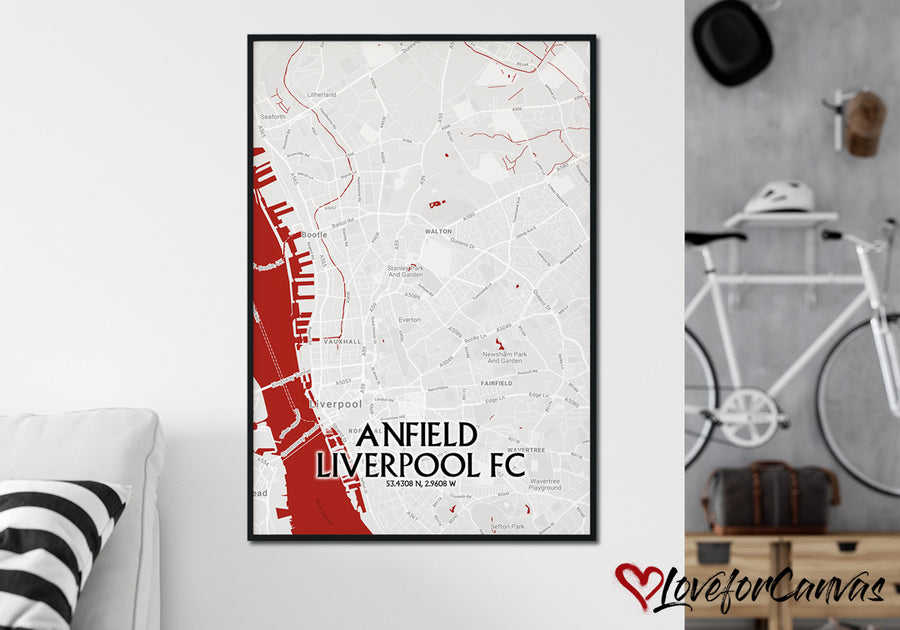 Liverpool FC Poster 6 | Soccer | Canvas Print