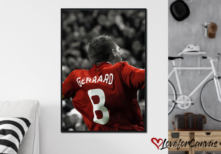 Liverpool FC Poster 7 | Soccer | Canvas Print
