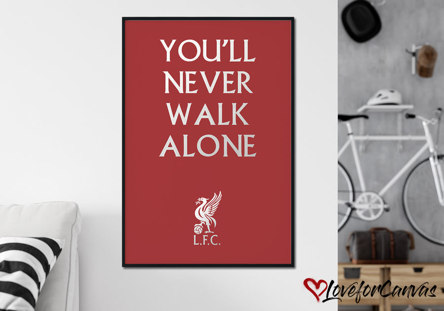 Liverpool FC Poster 8 | Soccer | Canvas Print