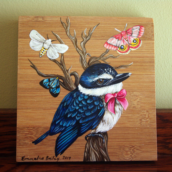 Original Little Kingfisher Painting