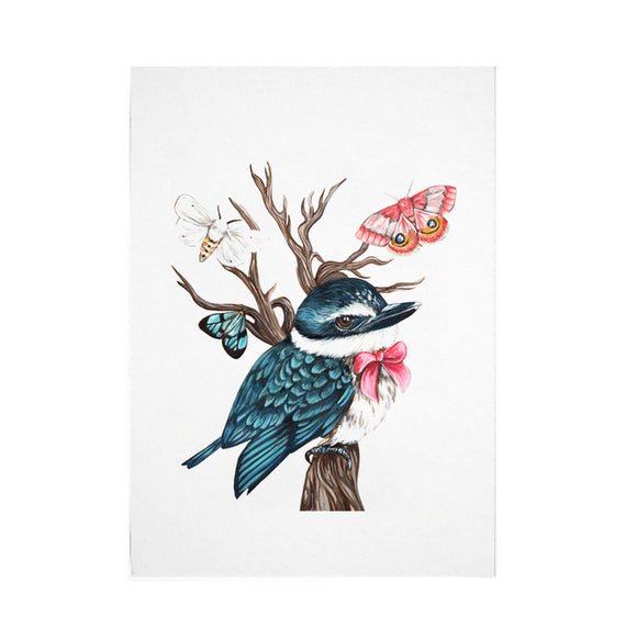 Little Kingfisher Print - Limited Edition