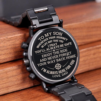 Engraving Quartz Wristwatches Great Gifts For Husband