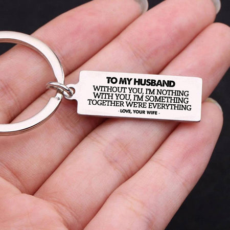 Keychain To My Husband