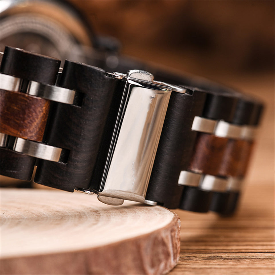 Engraved Wooden Watch - Great Gifts For Man