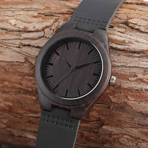 WOODEN WATCH - A GREAT GIFT FOR YOUR DAUGHTER - LOVE MOM