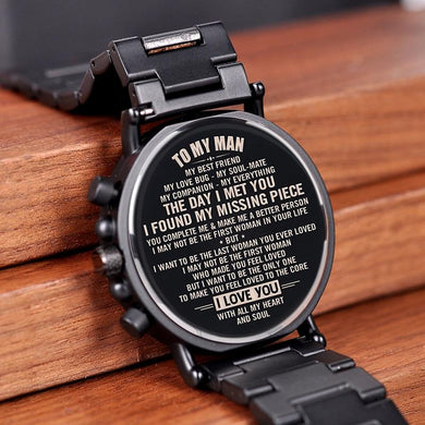 Engraving Quartz Wristwatches Great Gifts For Man