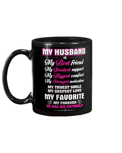 My Husband Coffee Mug