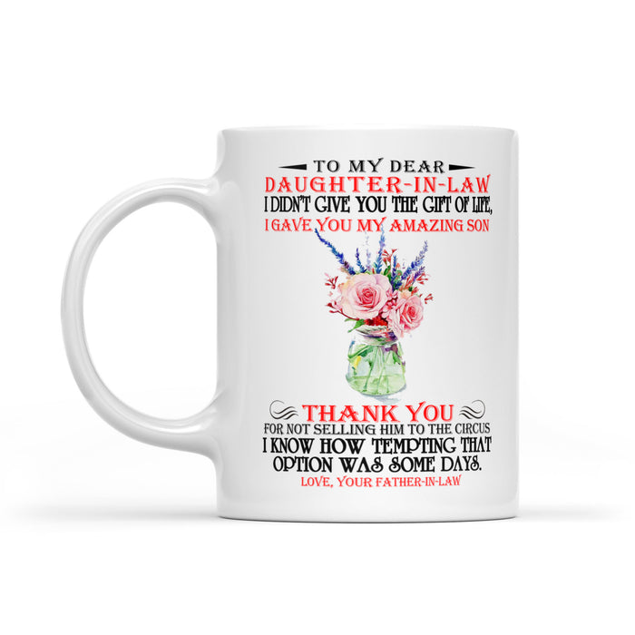 Daughter-in-law White Mug