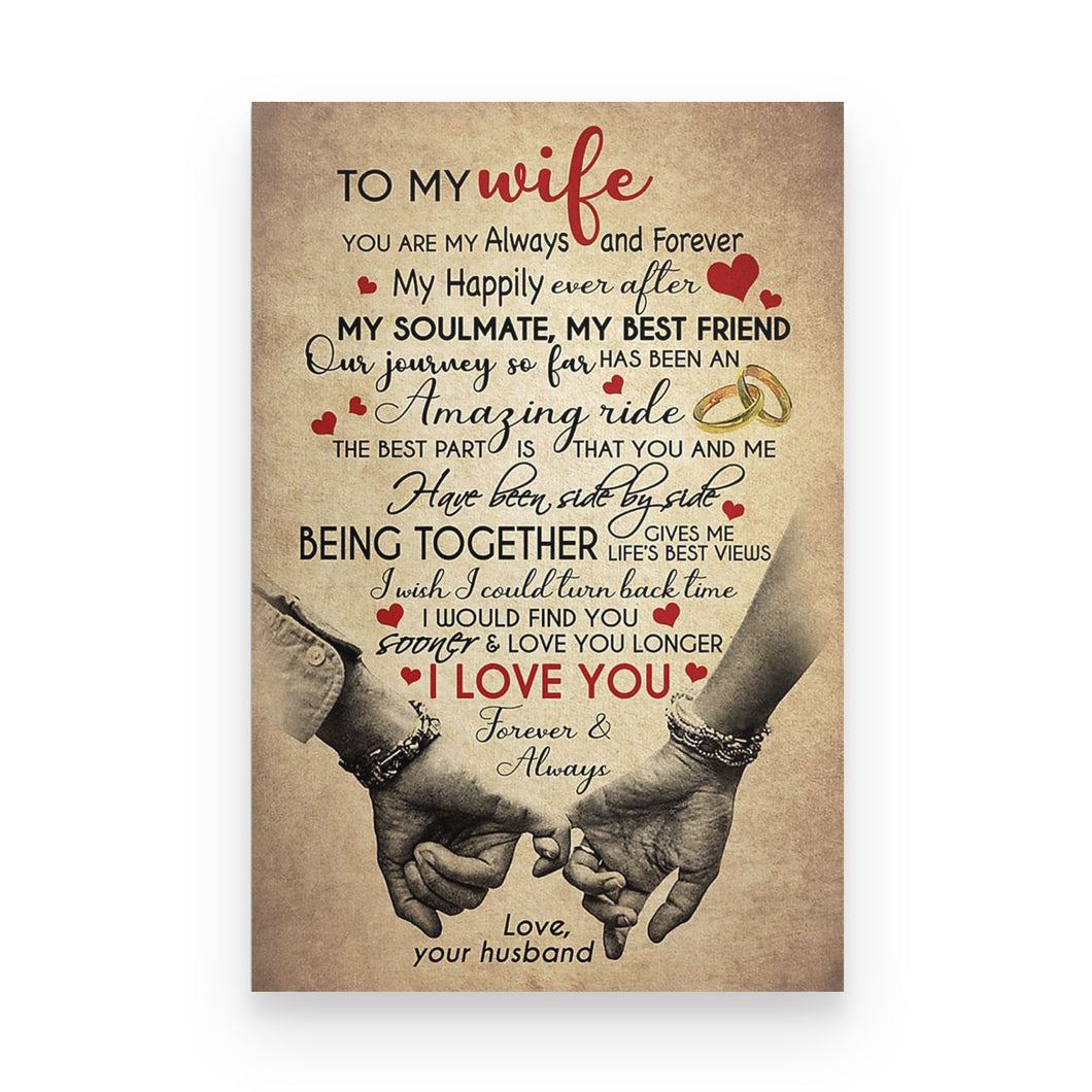 To My Wife Poster