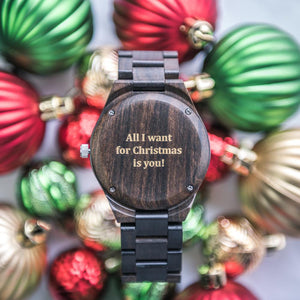 Wooden Watch For Man