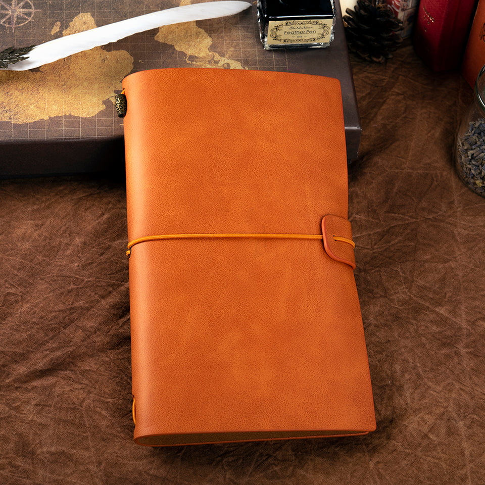 Leather Notebook Journal - Blank