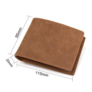 LEATHER WALLET - GREAT GIFT TO MY GRANDSON