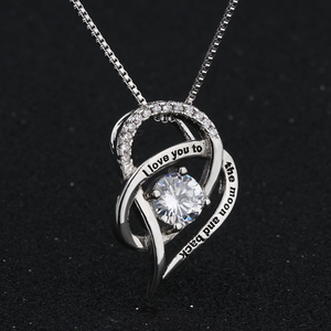 To My Wife Silver Necklace - Perfect Gifts For Wife