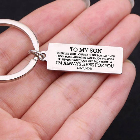 Keychain To My Son